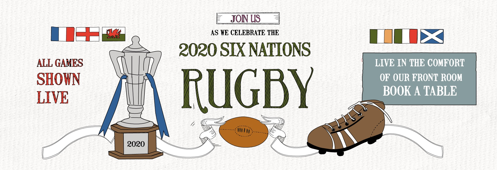 6 Nations Live at Clifton Village